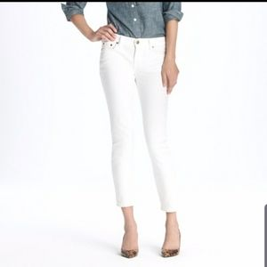 J. Crew cropped matchstick jean